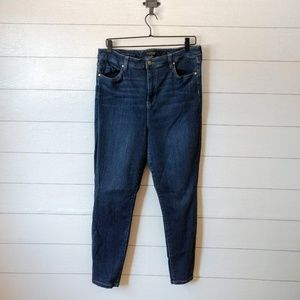 Liverpool High Rise Ankle Jeans Plus Size 16/33